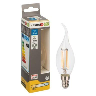 Żarówka LED E14 (230 V) 4 W 470 lm Ciepła biel LEXMAN