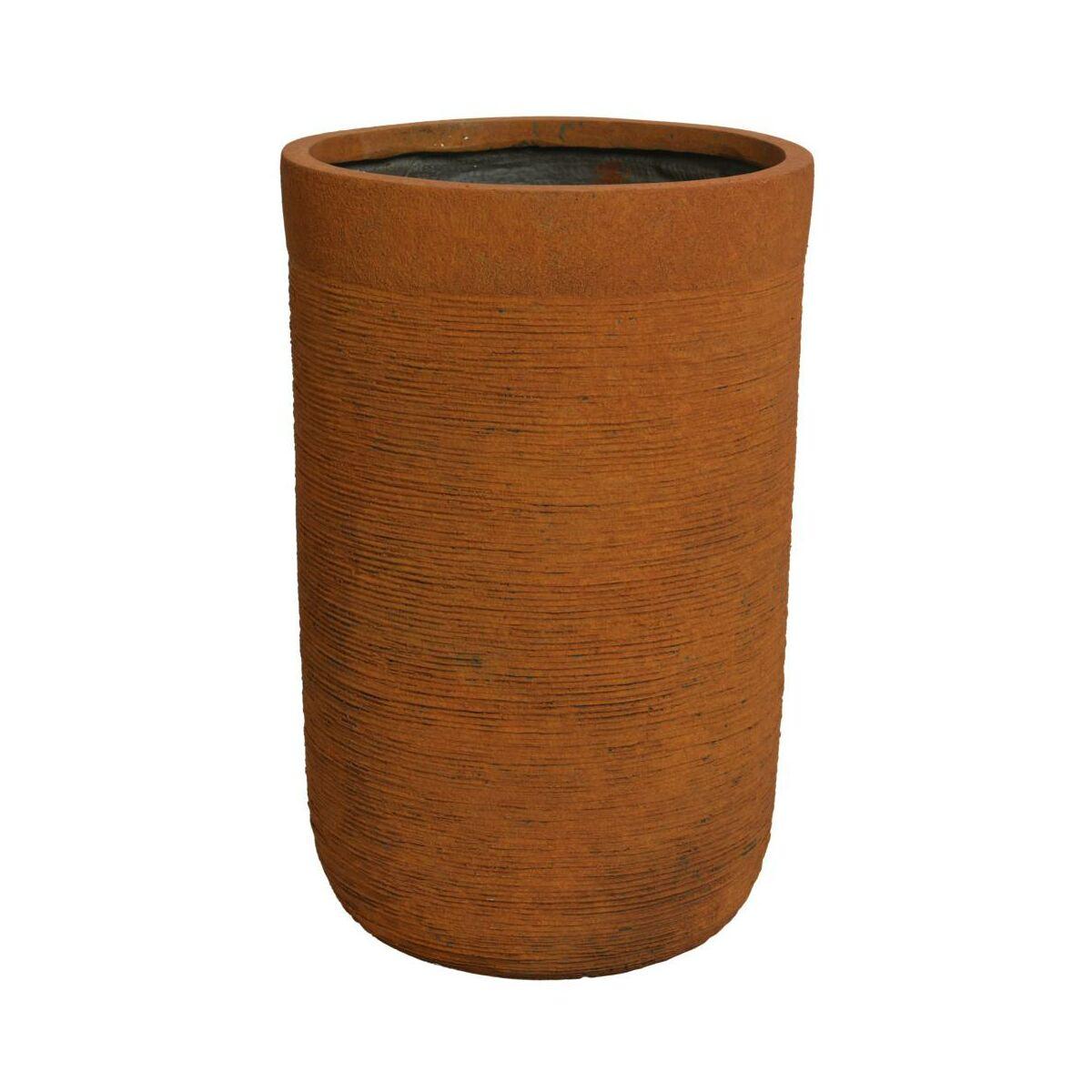 Doniczka betonowa 24 cm rdzawa KAEMINGK