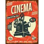 Obraz CINEMA 30 x 40 cm CONSALNET