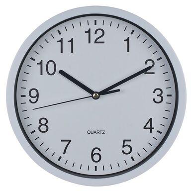 Zegar ścienny LZE-11 śr. 20 cm biały