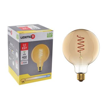 Żarówka dekoracyjna LED E27 6 W = 35 W 400 lm Ciepła LEXMAN