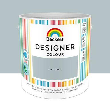 Farba wewnętrzna Designer Colour 2.5 l Sky grey Beckers