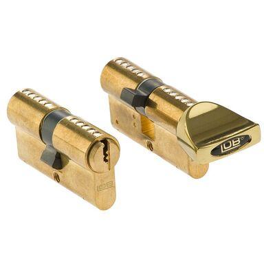Zestaw wkładek drzwiowych BĘBENKOWYCH HEKTOR 30 x 30 mm + 30 x 30G mm LOB