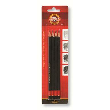 Ołówek grafitowy B2 4 szt. KOH-I-NOOR