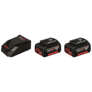Zastaw akumulator i ładowarka 18V Li-Ion 2 x 4 Ah BOSCH Professional