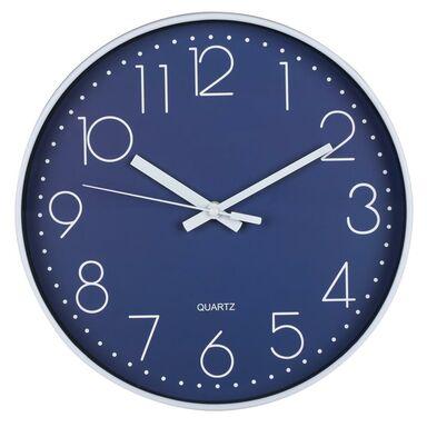 Zegar ścienny NAVY śr. 30 cm granatowy