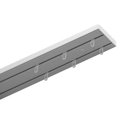 Szyna sufitowa 2-torowa 250 cm z akcesoriami PVC GARDINIA