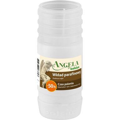 Wkład do zniczy 160 g 50 h parafinowy biały ANGELA BOLSIUS