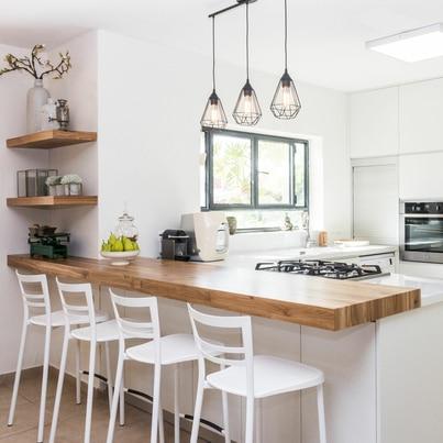 Kuchnia pełna światła