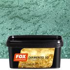 Farba dekoracyjna DIAMENTO 3D 1 l Malachit Brokatowy FOX