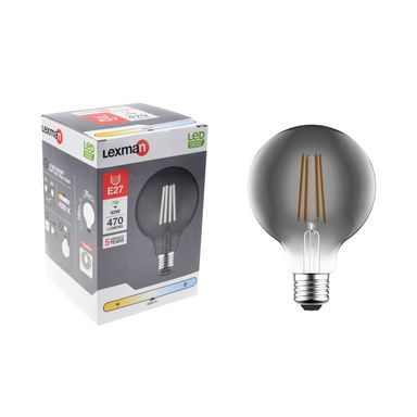 Żarówka dekoracyjna LED E27 7 W = 40 W 470 lm Neutralna LEXMAN