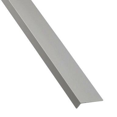 Kątownik PVC 2.6 m x 19.5 x 11.5 mm matowy szary STANDERS