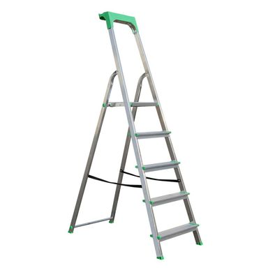 Drabina 1-stronna 5 stopni aluminiowa Standers