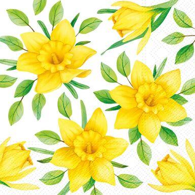 Serwetki Daffodils in bloom 33 x 33 cm 20 szt.