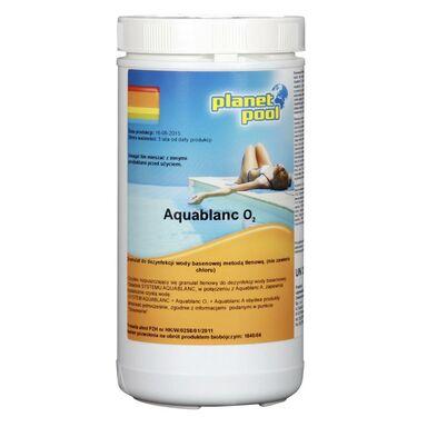 Produkt do pielęgnacji wody basenowej AQUABLANC O2 1 kg PLANET POOL