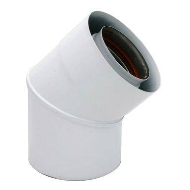 Kolanko spustowe NIERDZEWNE 45° 80/125 mm SPIROFLEX