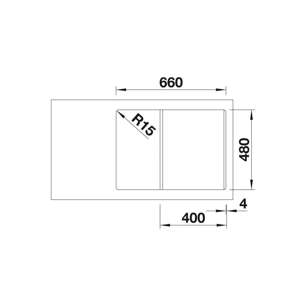 zlewozmywak lexa 40 s blanco sprawd opinie w leroy merlin. Black Bedroom Furniture Sets. Home Design Ideas