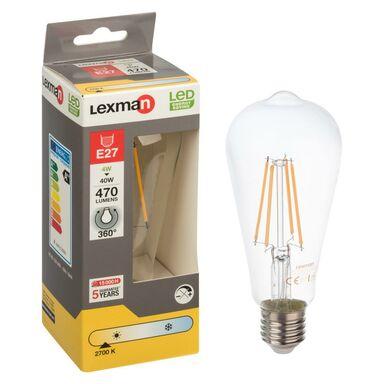 Żarówka dekoracyjna LED E27 (230 V) 4 W 470 lm LEXMAN