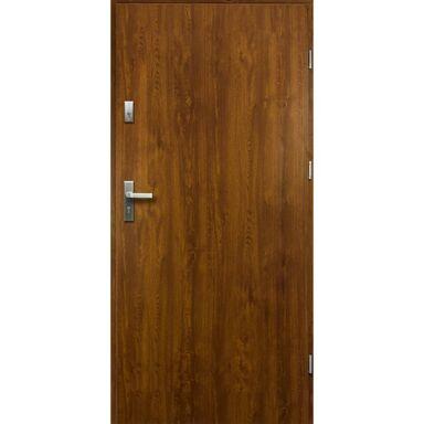 Drzwi zewnętrzne stalowe ARTEMIDA Złoty dąb 80 Prawe
