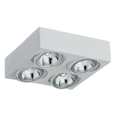 Oprawa stropowa natynkowa RODOS biała LED PREZENT