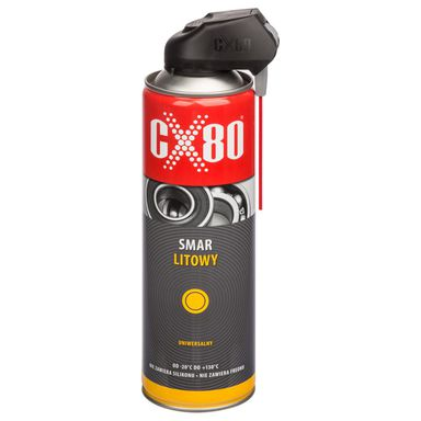 Smar litowy duo 500ml SMAR NA BAZIE OLEJU LITOWEGO CX-80