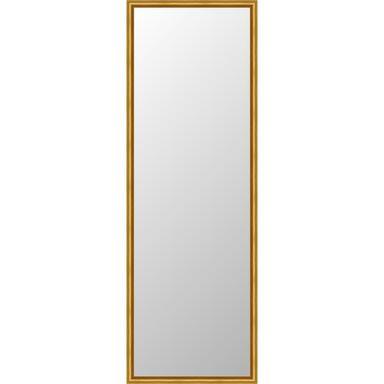 Lustro Hit złote 35 x 112 cm w drewnianej ramie