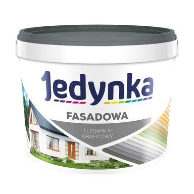Farba elewacyjna FASADOWA 9 l Elegancki grafitowy JEDYNKA