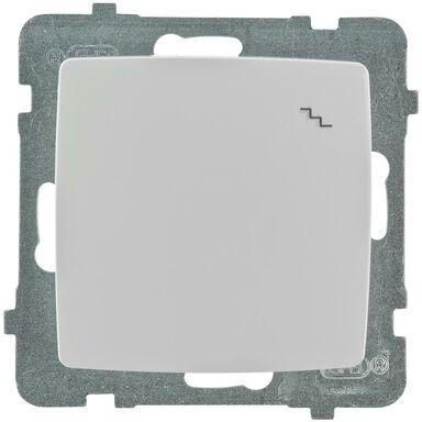 Włącznik schodowy KARO  Biały  OSPEL