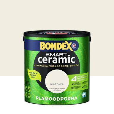 Farba wewnętrzna Smart 2.5 l Tupot białych mew Bondex