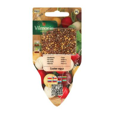 Rzodkiewka EASTER EGGS nasiona tradycyjne 6 g VILMORIN