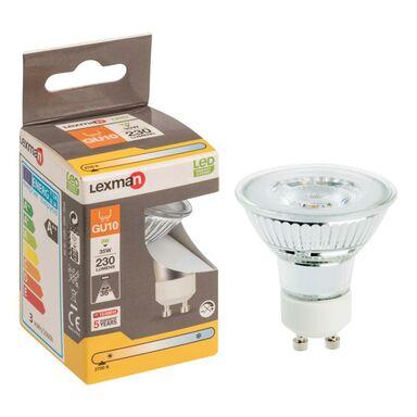 Żarówka LED GU10 (230 V) 3 W 230 lm Ciepła biel LEXMAN