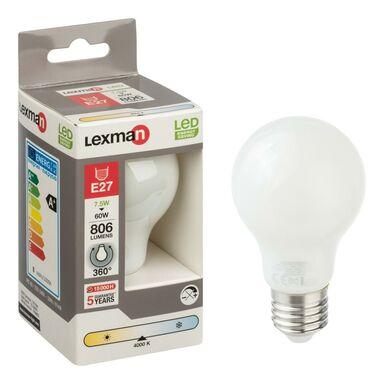 Żarówka LED E27 (230 V) 7,5 W 806 lm LEXMAN