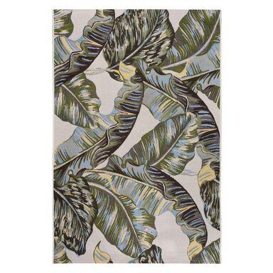 Dywan zewnętrzny w liście Borneo zielono-złoty 120 x 170 cm