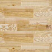 Deska warstwowa Jesion rustic 4-lamelowa lakier półmatowy 14 mm Artens