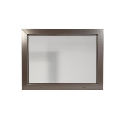 Okno gospodarcze KIPP Brązowe 800 x 600 mm ACO