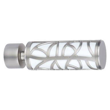 Końcówka do karnisza IVY satynowo-biała 20 mm 2 szt. INSPIRE