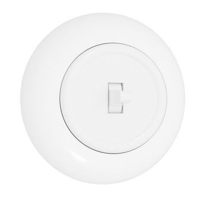Włącznik pojedynczy LF0011W LOFT biały DPM