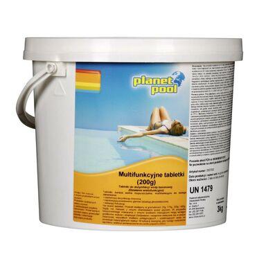 Produkt do pielęgnacji wody basenowej CHEMOCHLOR 3 kg PLANET POOL