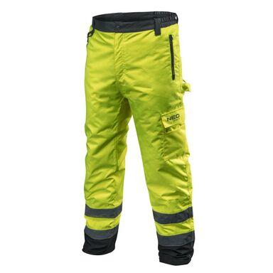 Spodnie robocze r. XXL ocieplane ostrzegawcze NEO 81-760