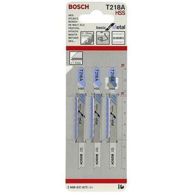 Brzeszczot do wyrzynarki BASIC FOR METAL T218A BOSCH