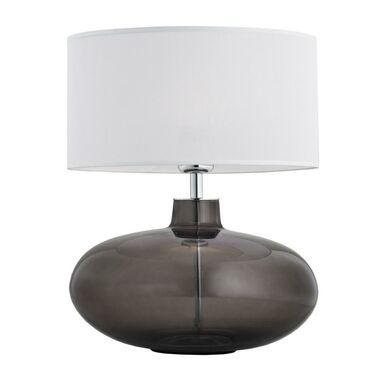 Lampa stołowa SEKWANA przydymione szkło E27 PREZENT