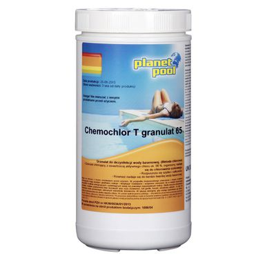 Granulat do basenu 1 kg PLANET POOL CHEMOCHLOR T