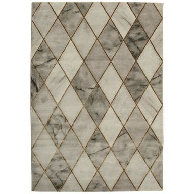 Dywan CREDO szary 120 x 170 cm imitacja marmur