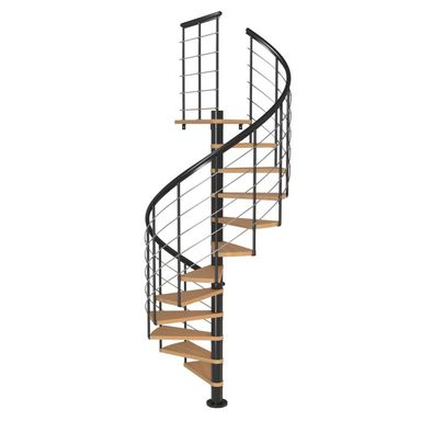 Schody spiralne MONTREAL Style Buk lity 140 cm DOLLE