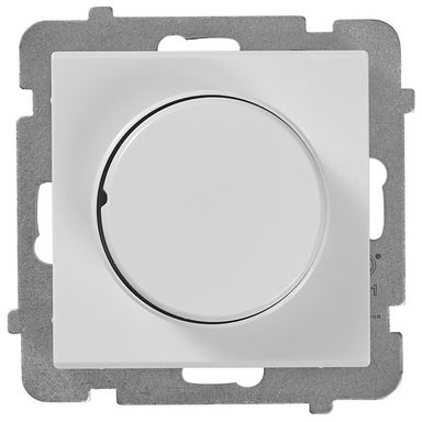 Ściemniacz przyciskowo-obrotowy SONATA  Biały  OSPEL