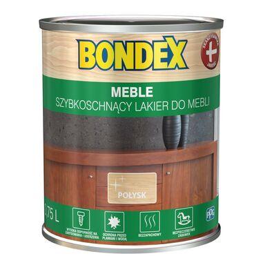 Lakier do mebli szybkoschnący 0.75 l połysk Bondex