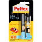 Klej błyskawiczny S.O.S. SUPER KLEJ do plastiku 2 g PATTEX