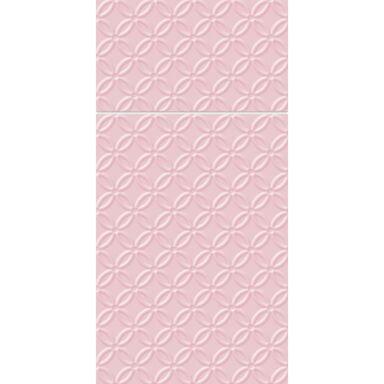 Serwetki z kieszonką MODERN różowe 40 x 40 cm 16 szt.