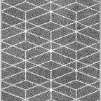 Chodnik dywanowy na mb Sommar szary szer. 80 cm