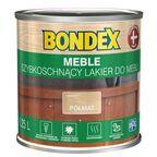 Lakier do mebli szybkoschnący 0.25 l półmat Bondex